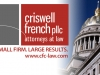 Criswell French Law Firm Facebook Cover